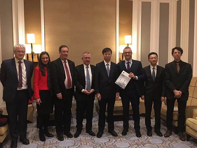 EU Ambassador to China and Shanghai Vice Mayor Attend European Chamber Appreciation Dinner